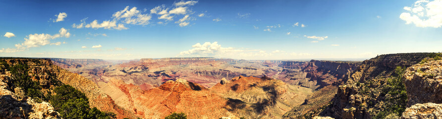 Panorama: Lipan Point - Grand Canyon, South Rim - Arizona, AZ, USA