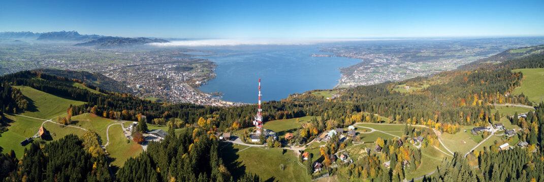 Panorama Bodensee (vom Pfänder)