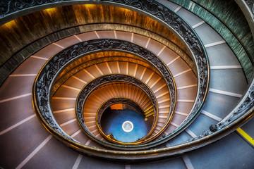 Vatican Museum Stairs Fototapete