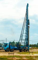 Crane pile
