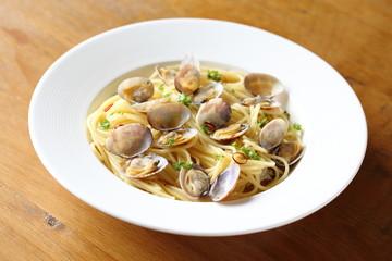 ボンゴレビアンコ Spaghetti alle vongole bianco
