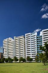 幕張の高層マンション街