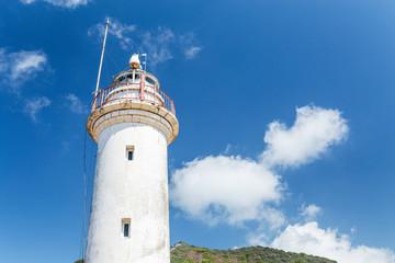 Famous tourist destination Gelidonya lighthouse on Lycian way, Turkey