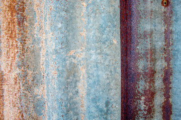 Old zinc roof texture background,Rusted metal corroded colorful background,Pattern of old metal sheet zinc.