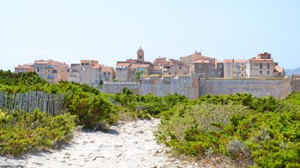 Corsican village of Bonifacio