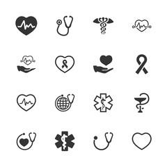 Healthcare Symbols - Blue Version