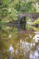 Denham bridge in Autumn