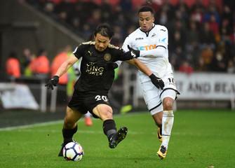 Premier League - Swansea City vs Leicester City