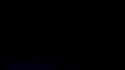 Night blue sky stars background