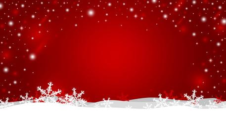 Christmas background design of snowflake vector illustration