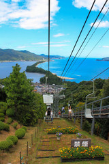 Amanohashidate Cable Car View