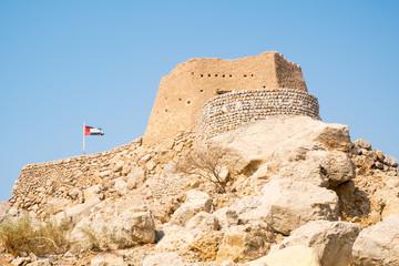 Photo sur Plexiglas Fortification Dhayah Fort, Ras al Khaimah, United Arab Emirates