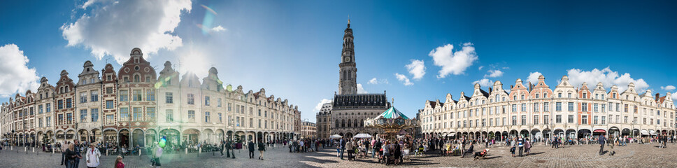 Arras place du beffroi Fototapete
