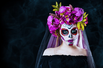 black skull lady