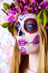 makeup of sugar skull