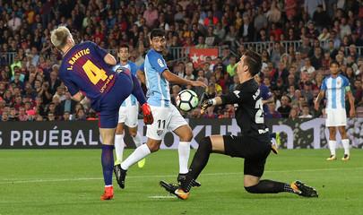 La Liga Santander - FC Barcelona vs Malaga CF