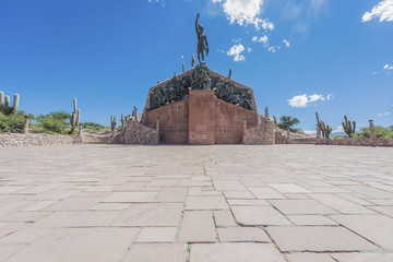 Independence Heroes in Humahuaca, Argentina.
