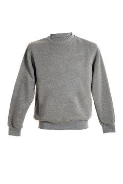 Isolated ordinary unisex sweatshirt mock up