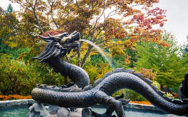dragon fountain victoria