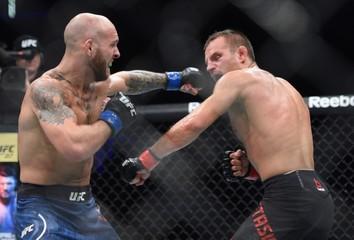 MMA: UFC Fight Night-Gdansk-Hamilton vs Wieczorek