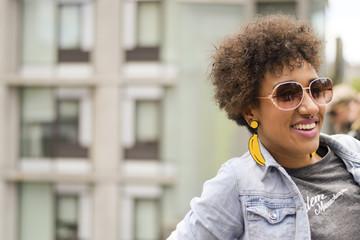 Brazilian mixed race woman