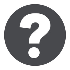 question mark circle icon