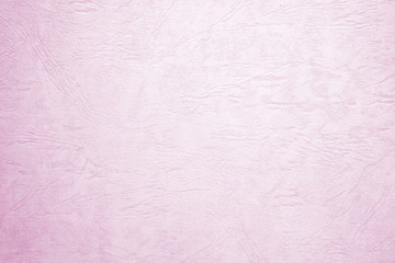 Blank pink paper texture background, detail close up