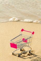 chariot sur le sable