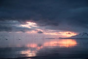 Antarctic Peninsula Landscape.