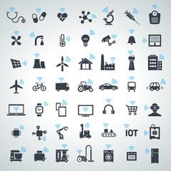 IOT, internet of things icon set - 2017_10 - 1