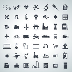 IOT, internet of things icon set - 2017_10 - 2