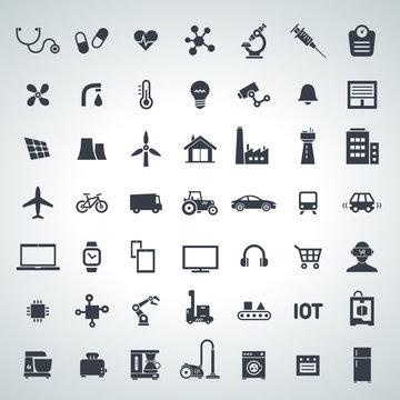 IOT, internet of things icon set - 2017_10 - 2