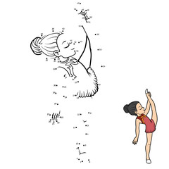 Numbers game, The gymnast girl