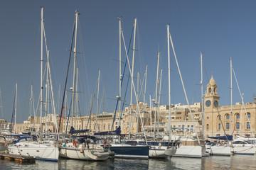 Malta, Vittoriosa, Birgu, Marina