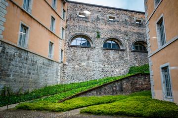 Dans le Fort Saint-Jean à Lyon