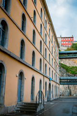 Visite des Subsistances à Lyon