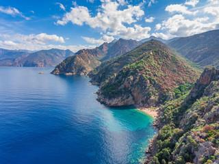 Golf von Porto an der Westküste von Korsika