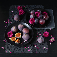 Figs and plums