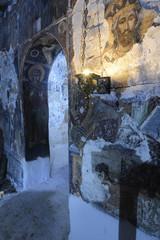 Griechisch-Orthodoxe Kapelle auf dem Peloponnes, Griechenland