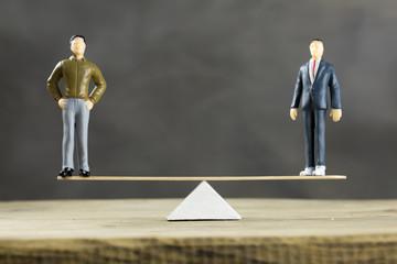 Businessmen Balance Concept