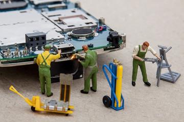 Repair of smartphone