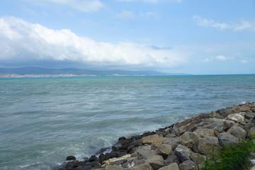 Black Sea in Nessebar Coast - Bulgaria
