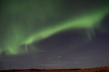 アイスランド オーロラ iceland island winter  aurora northern lights