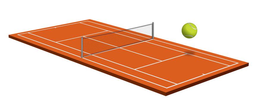 tennis orange