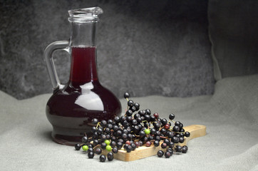 elderberries juice bio eco