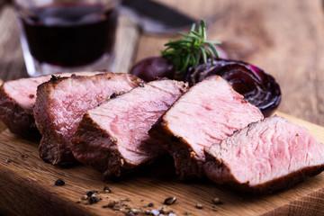 Delicious beef filet mignon
