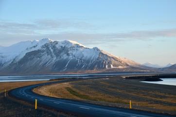 Photo sur Aluminium Pôle アイスランド スナイフェルスネス半島 国立公園 氷河 冬 iceland island winter snaefellsnes peninsula national park arnarstapi jokull glacier