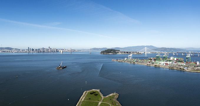 Above San Francisco Bay