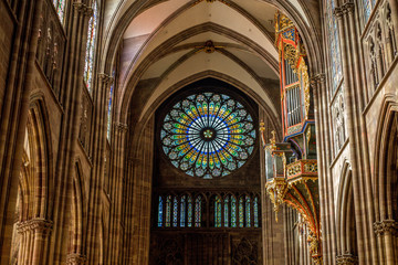 Orgel im Straßburger Münster