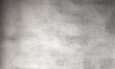 Silver grunge background - Vintage Rough grey textured  wall for your design..